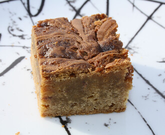 Karamell blondies
