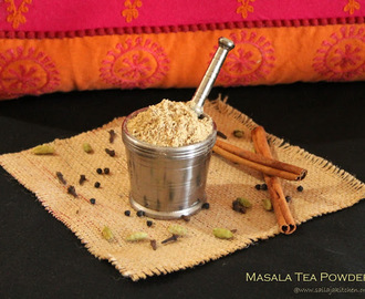 Homemade Masala Tea Powder / Indian Masala Chai Recipe / Chai ka Masala / Chai Powder / Tea Masala Recipe