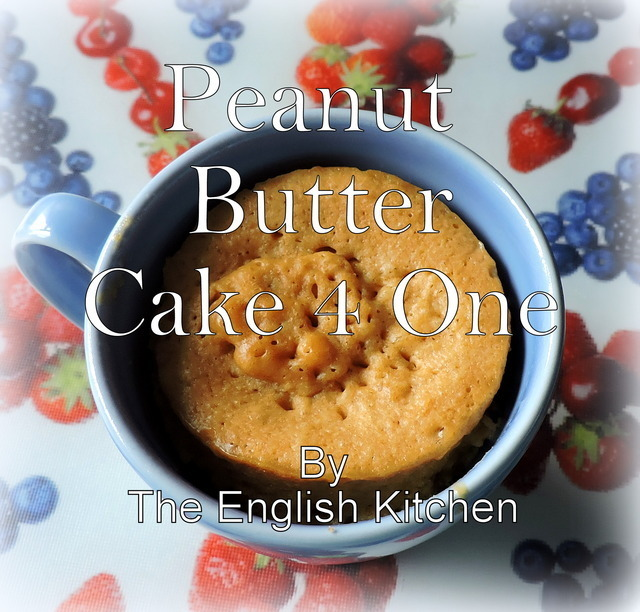Peanut Butter Cake 4 One