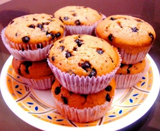 VANILLA CHOCOLATE CHIPS MUFFINS & CELEBRATING 300th POST