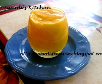 MANGO COCONUT MOCKTAIL