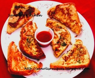 SPICY EGG TOAST