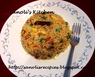 MIXED FRIED RICE - INDIAN STYLE