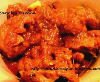 KASHA MANGSHO / SEMI DRIED MUTTON CURRY
