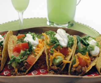 Help-Yourself Turkey Tacos