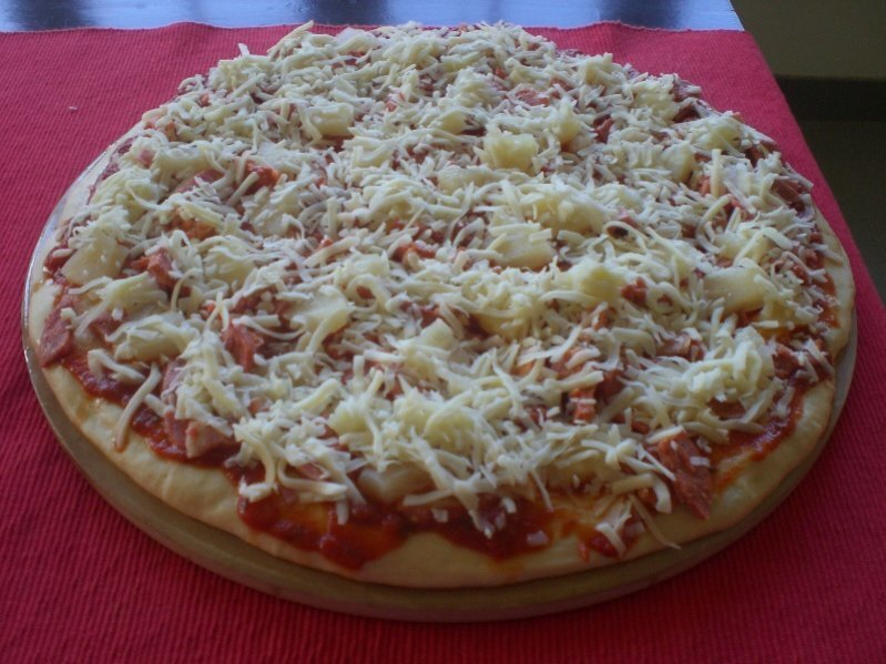 Massa de Base para Pizza Alta e Fofa II