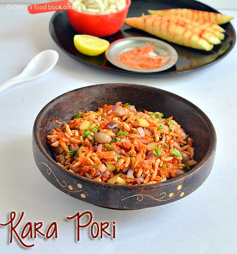 BEACH STYLE KARA PORI – SNACKS RECIPES