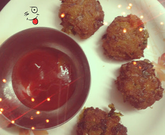 Meal Maker ( Soya Chunks) Vada