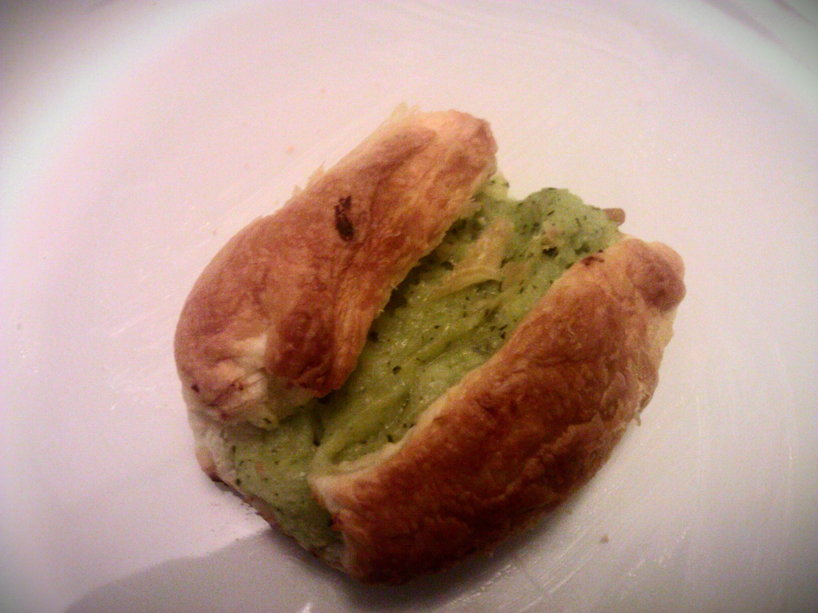 Pesto knish