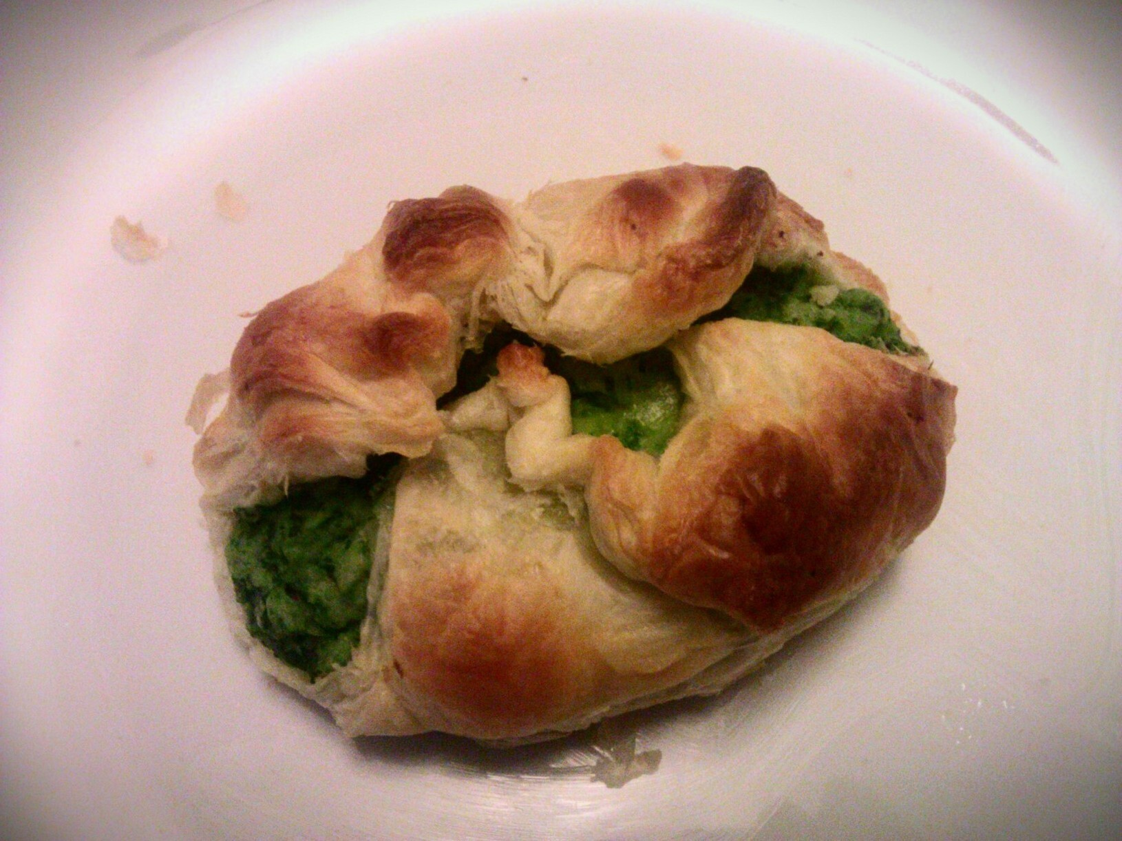 Spinach & ricotta knish