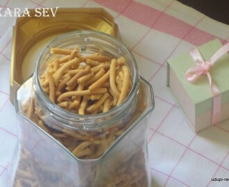 Kara Sev Recipe | Kara Kaddi Recipe | Quick Easy Snacks