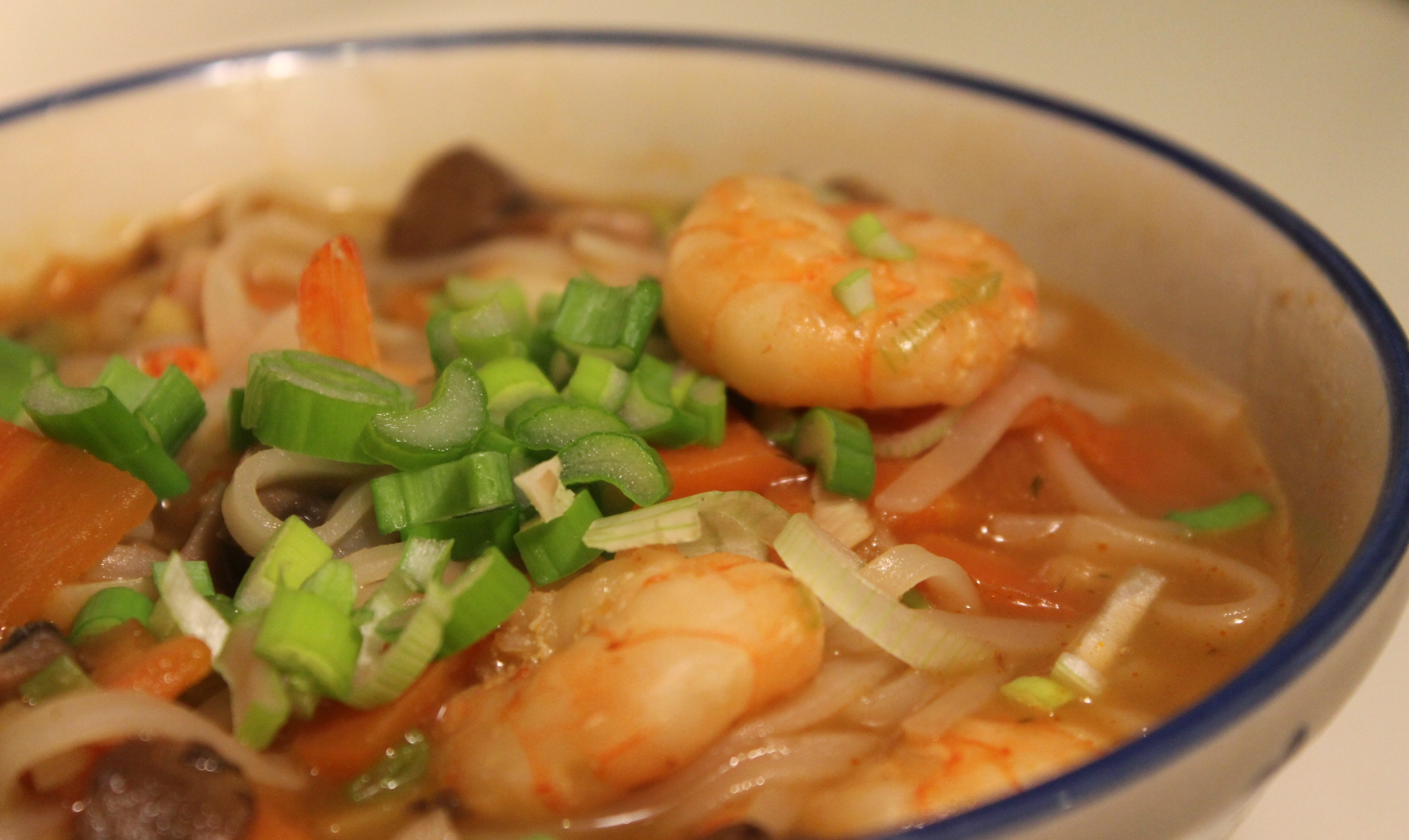 Spicy Thai-suppe…