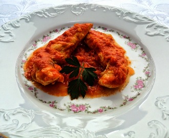 Pollo colorao (Con tomate)