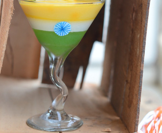 Tricolor Parfait for Republic Day