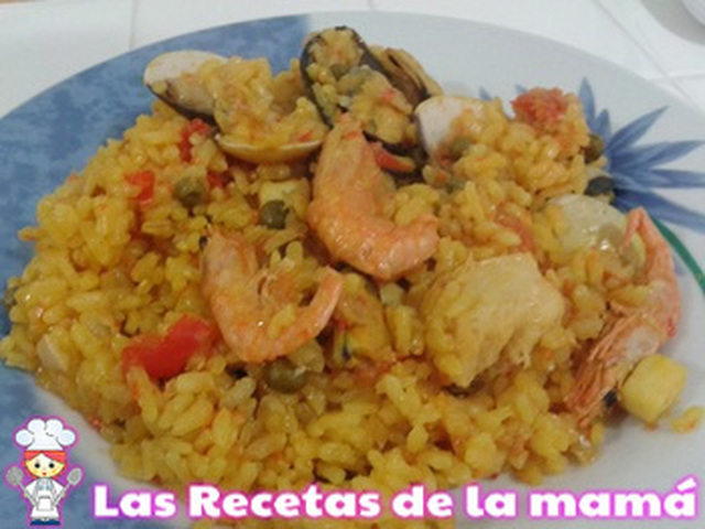 Receta de Arroz de marisco en la superchef