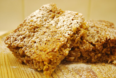 Sticky Ginger Flapjacks
