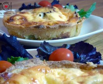 ¡Las deseadas mini-quiches!