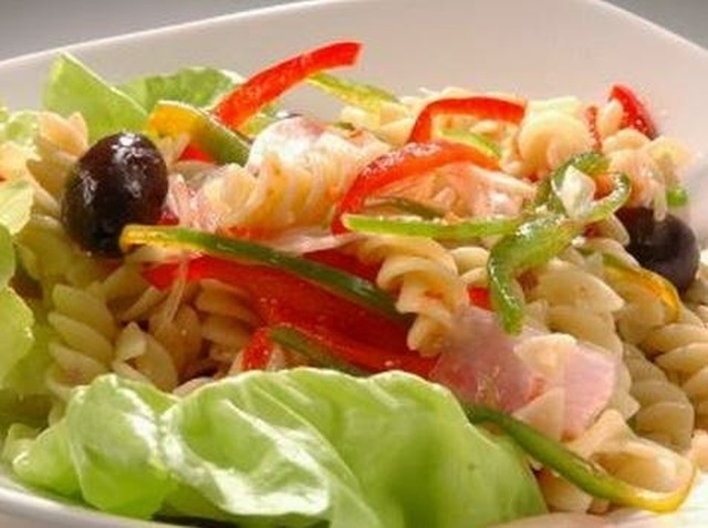 Ensalada de pasta light