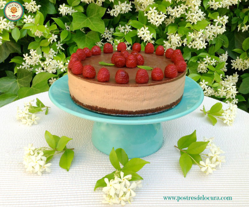 TARTA MOUSSE DE CHOCOLATE sin horno