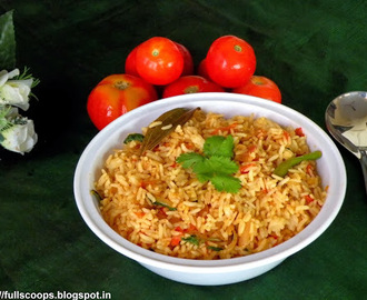 Tomato Rice Recipe / Thakkali Sadam Recipe