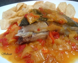 PESCADO EN SALSA AL CURRY  (thermomix)