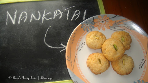 Nankhatai / Ghee Biscuit / Indian cookies
