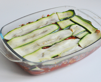 Recept: Courgette Lasagne
