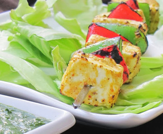 Tandoori Paneer Tikka/Barbecue Cottage Cheese