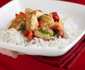 Stir Fried Chicken with Tofu and Mixed Vegetables Recipe