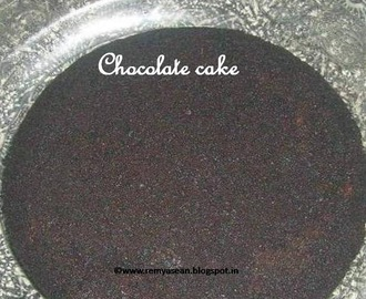 Pressure Cooker Chocolate Cake