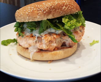 """Fresh Fish"" Burger"