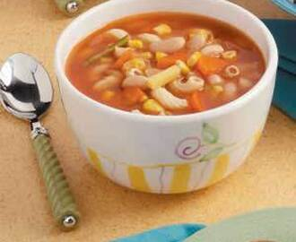 Vegetable Macaroni Soup