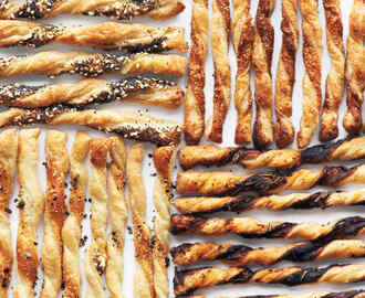Puff-Pastry Cheese Straws