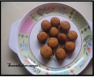 Sweet Bread Bonda!