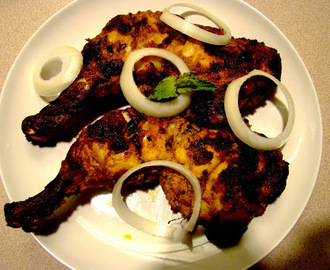 Tandoori chicken: