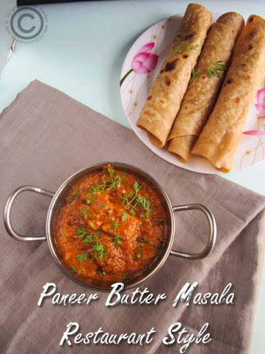 PANEER BUTTER MASALA - RESTAURANT STYLE I PANEER RECIPES I GRAVIES FOR PARATHA/NAAN