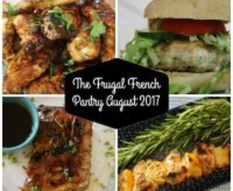Frugal French Pantry August 2017