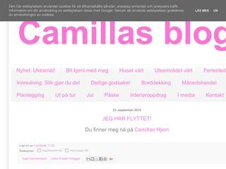 Camillas blogg
