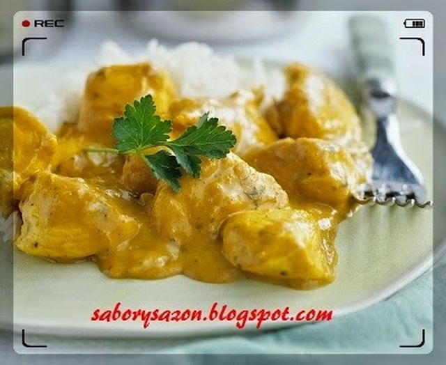 RECETA SENCILLA - POLLO AL CURRY