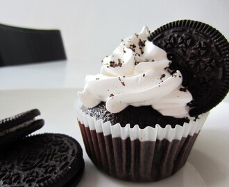 Oreo Cupcakes med Italiensk marengs
