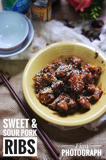糖醋排骨 (Sweet & Sour Pork Ribs)