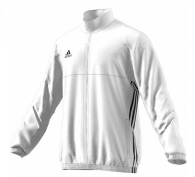 ADIDAS Team Jacka Vit Mens T16 (2XL)