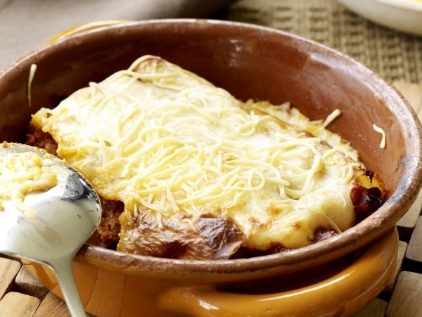 Cannelloni gevuld met ragout