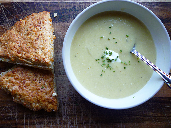 * Leek and Potato Soup