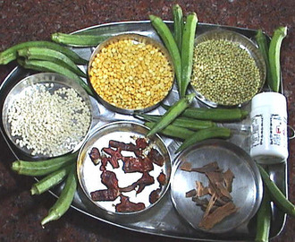 Vendakkai Masala - Ladies Finger or Okra Masala