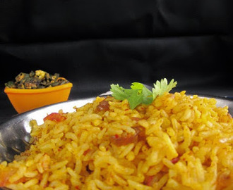 NELLORE MASALA RICE I SESAME TOMATO MASALA RICE I LUNCH BOX RECIPES