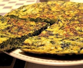 FRITTATA LIGHT CON SPINACI E RICOTTA