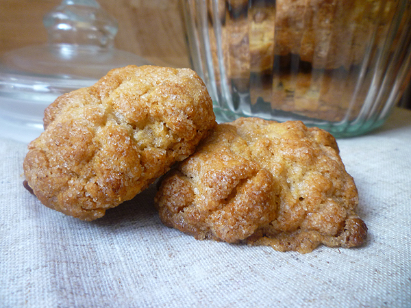 * Ginger Biscuits (Cookies)