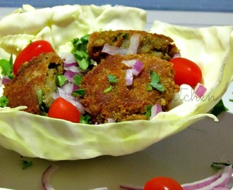 Aloo Gobi Mutter Cutlet / Cauliflower Potato Peas Patties
