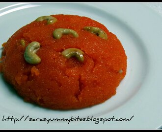Rava Kesari - 7 Day Blogging  marathon with sweet start.